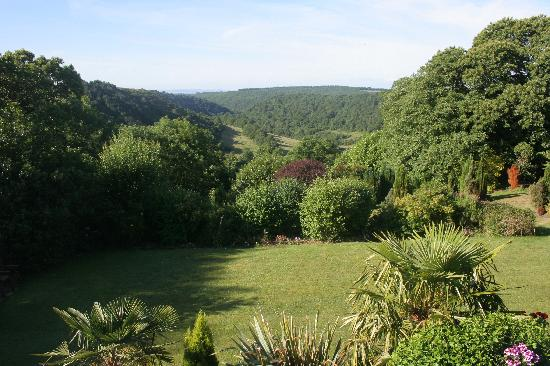 Moorlands Country House: View from dining & one of the bedrooms