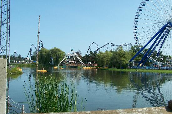 Darien Lake Amusment and Water Park Campground: Darien Lake
