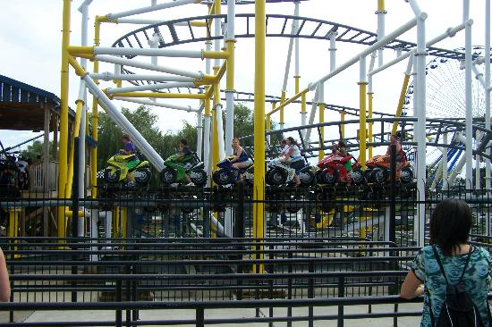 Darien Lake Amusment and Water Park Campground: MotoCoaster