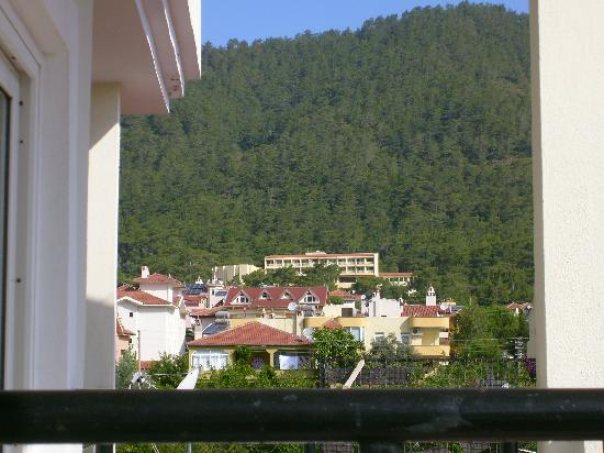 Prestij Apartments: view from balcony