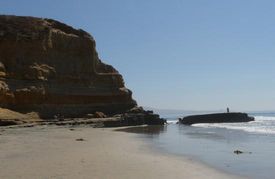 Torrey Pines State Natural Reserve: Beach at Torrey Pines