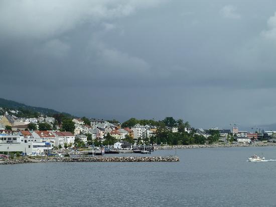 Thon Hotel Moldefjord: Blick aus dem Fenster