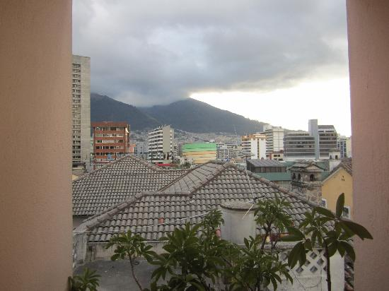 Hotel Plaza Internacional: The view from the hotel hallway