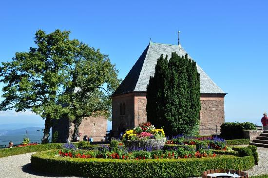 Mont Sainte Odile Convent: Tränen- und Engelkapelle