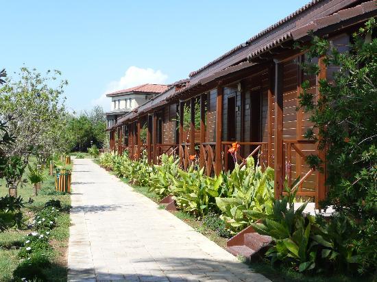 Club Calimera Serra Palace: une allée de l'hotel