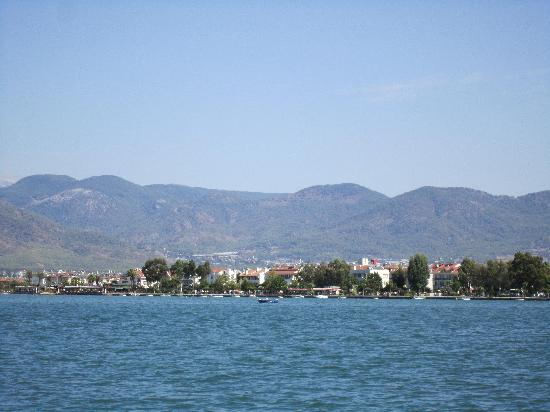Plage de Calis : stunning view from calis beach