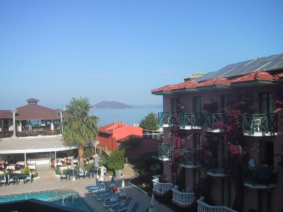 Plage de Calis : Bahar hotel on calis beach fethiye been here twice and will be staying here again in april