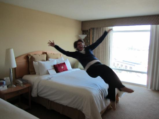Crowne Plaza Orlando - Universal Blvd: Very soft beds i love them