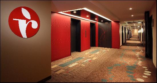 Ramada Saskatoon : Redesigned and renovated hallways