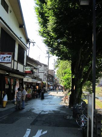 Takayama, Japan: Just a lane dedicated to the morning market
