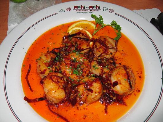 Mahi-Mahi Restaurant de Mariscos en el Mapa: 8 Scallops