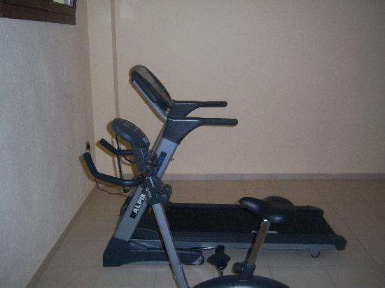 Glikadi, Grecia: gym equipment at the 4 seasons