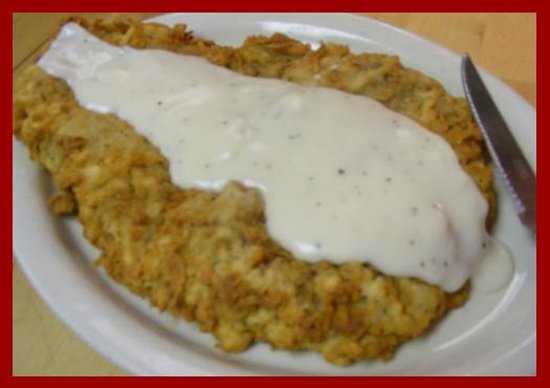 Sendero Restaurant: XXL Chicken Fried Steak