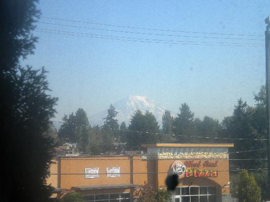 Red Lion Hotel Tacoma: View of Mt Rainier from our room :-)