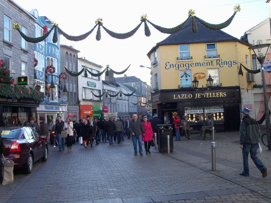 Голуэй, Ирландия: City Center-Galway