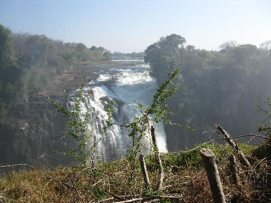 Cataratas Victoria, Zimbabue: A view of the Falls