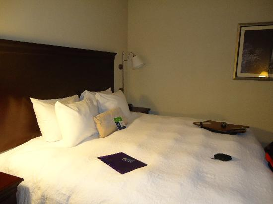 Hampton Inn & Suites Washington-Dulles International Airport: Bed