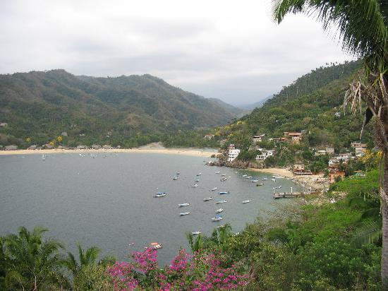 Casa La Loma en Yelapa: View from top deck