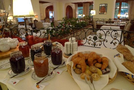 Hotel La Collina: Bread and Jams