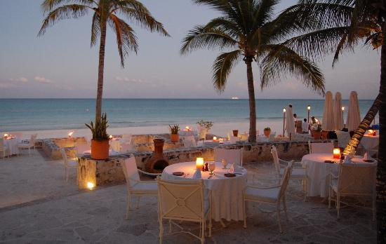 Belmond Maroma Resort & Spa : dinner time