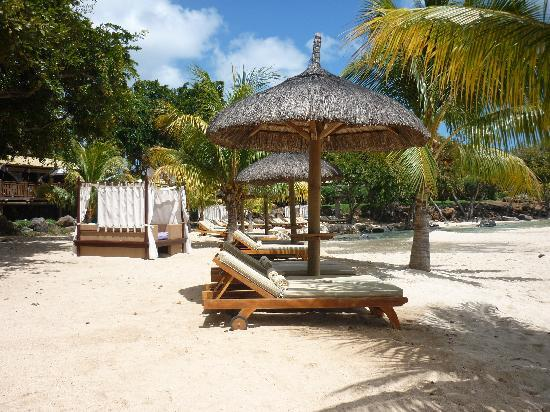 Club Med La Plantation d'Albion: Pleant of places to sleep