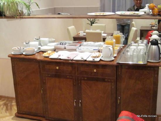 Pension Liechtenstein: Continental breakfast
