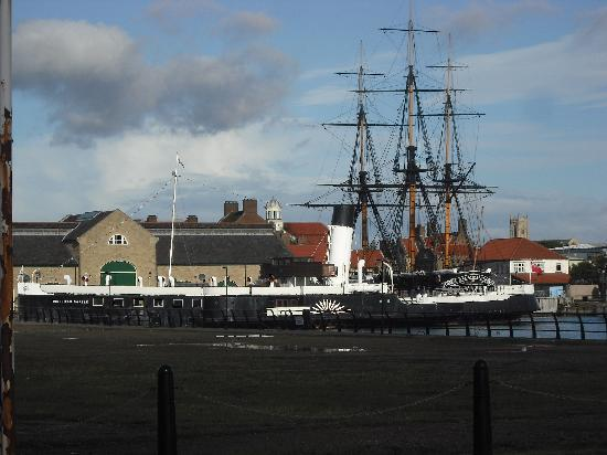 Premier Inn Hartlepool Marina Hotel: Loved walking around the area with the tall ships