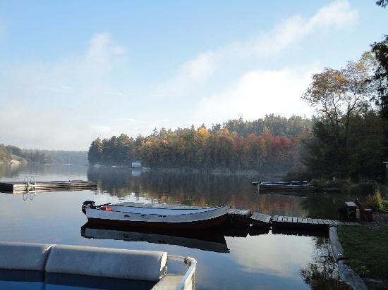 Bearskin Lodge & Outfitters: View from the dock