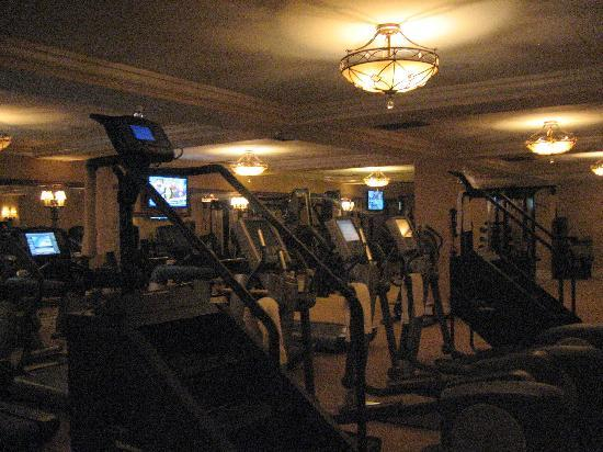Fairmont Grand Del Mar: The gym