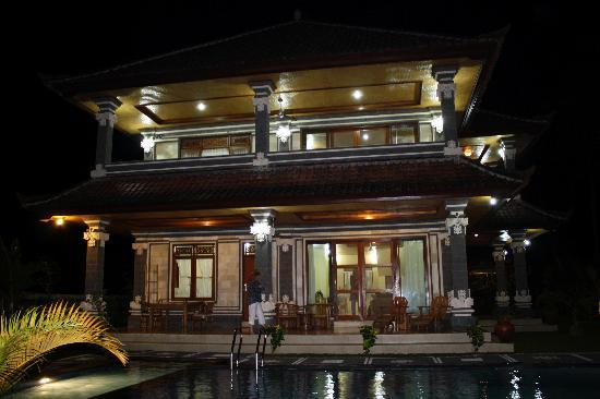 Villa Agung Khalia: Villa Kahlia on arrival