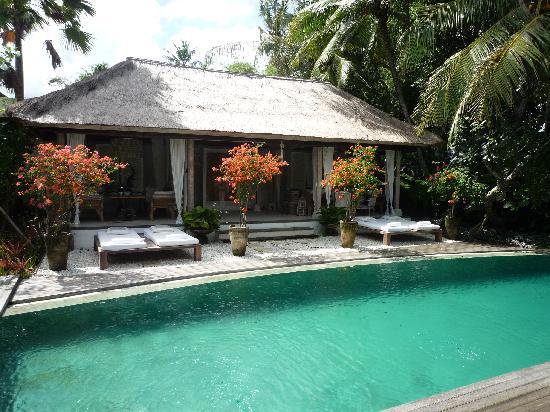 Oazia Spa Villas: Swimming pool and Bale
