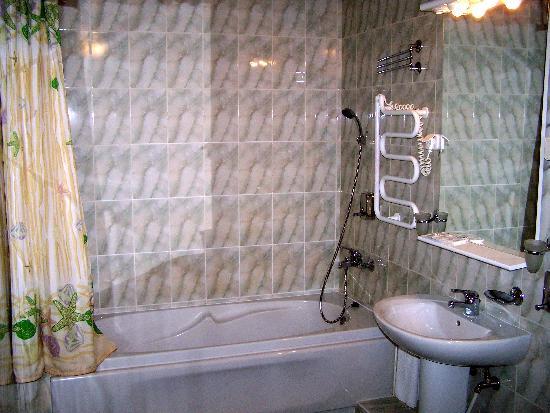 Ingria Hotel: Badezimmer