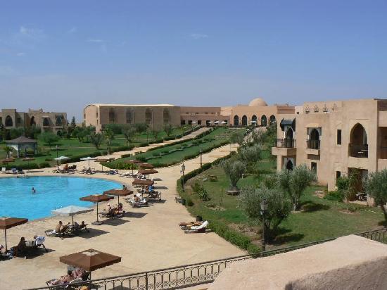 Marrakech Ryads Parc & Spa by Blue Sea : vue de l hôtel