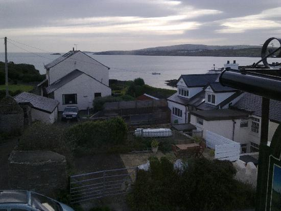 Bull Bay Hotel : view from bedroom window