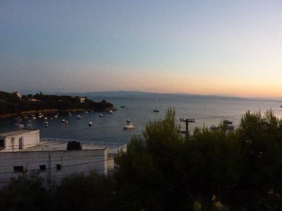 Villa Apollon Skiathos: stunning night