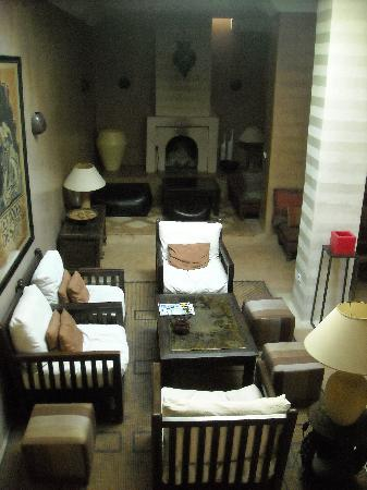 Riad l'Orangeraie: The lounge