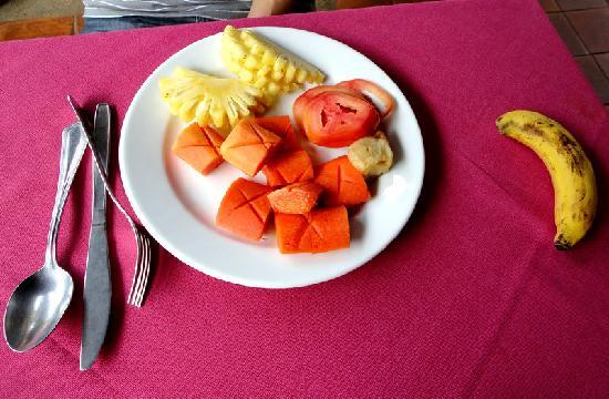 Kata Poolside Resort: Breakfast Fruit