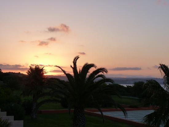 Torre del Barone Club : lever de soleil pris d'une chambre