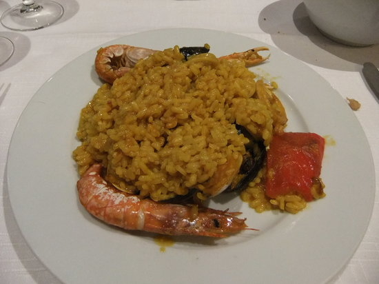 Elche: Seafood paella