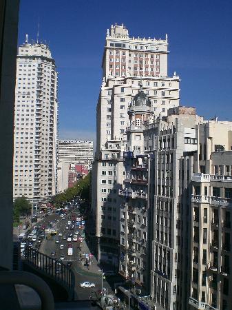 Espahotel Gran Via: La Gran Via vista dall'hotel