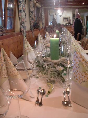 Berghotel Schlossanger Alp: Familienfeier