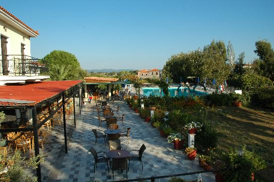 Skala Kallonis, Greece: Tranquil terrace