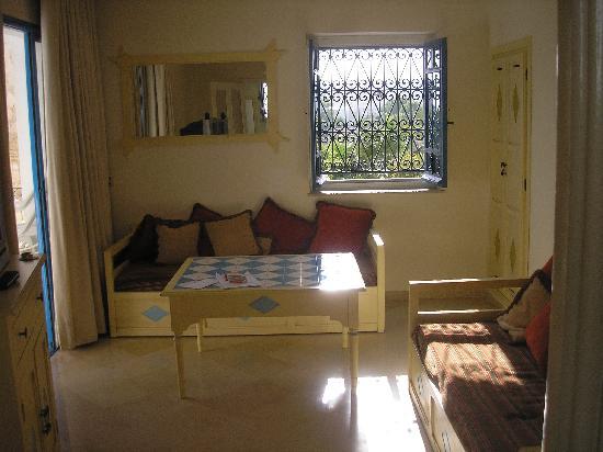 Hotel Diar Lemdina : Suite lounge