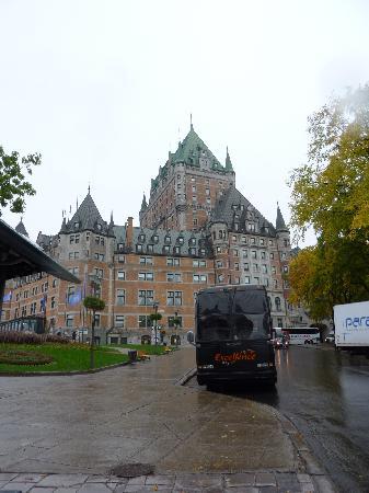 Tours Voir Quebec: Hotel Chateau Frontenac
