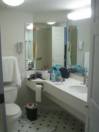 La Quinta Inn Tampa Near Busch Gardens: Salle de bains