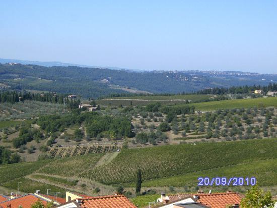 Reggello, Italia: Aussicht vom Podere Picciolo