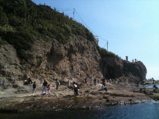 Chigogafuchi Marine Plateau : 船から撮影した稚児ヶ淵