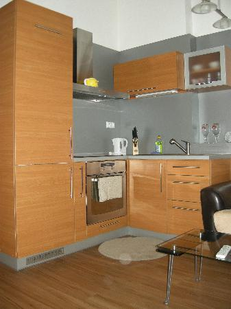 Downtown Suites Kodanska: cucina