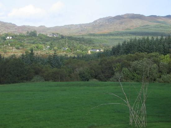 Glencar House garden