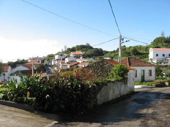 Flores, Portugal: A neigbhorhood in Lajes
